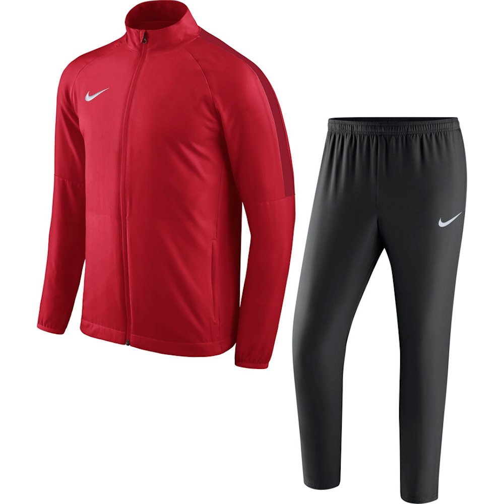NIKE Academy 18 Woven Tracksuit Men's (University Red/Black/Gym Red/White, S)