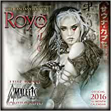 Amazon.com: Fantasy Art of Luis Royo 2016 Wall Calendar