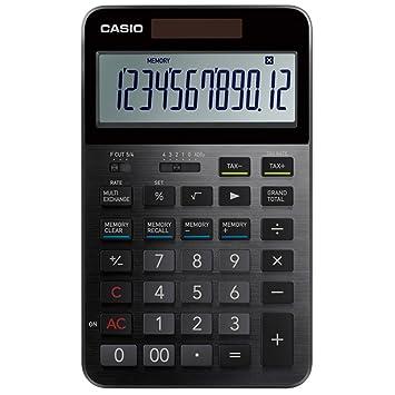 amazon カシオ 電卓 プレミアム s100 ビジネス電卓 文房具