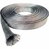2'' Tinned Copper Metal Braided Sleeving - 25FT