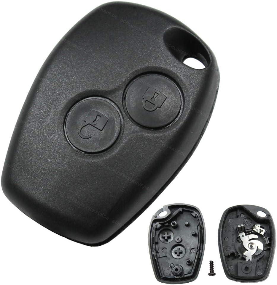 Autoschlüssel 2 Tasten Funk Schlüssel Gehäuse Elektronik