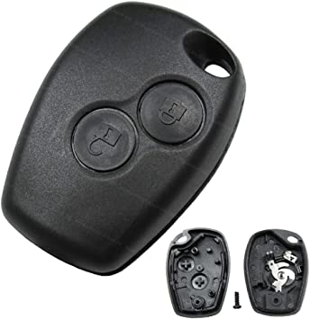 Konikon 2 Tasten Schlüsselgehäuse Autoschlüssel Ersatz Elektronik