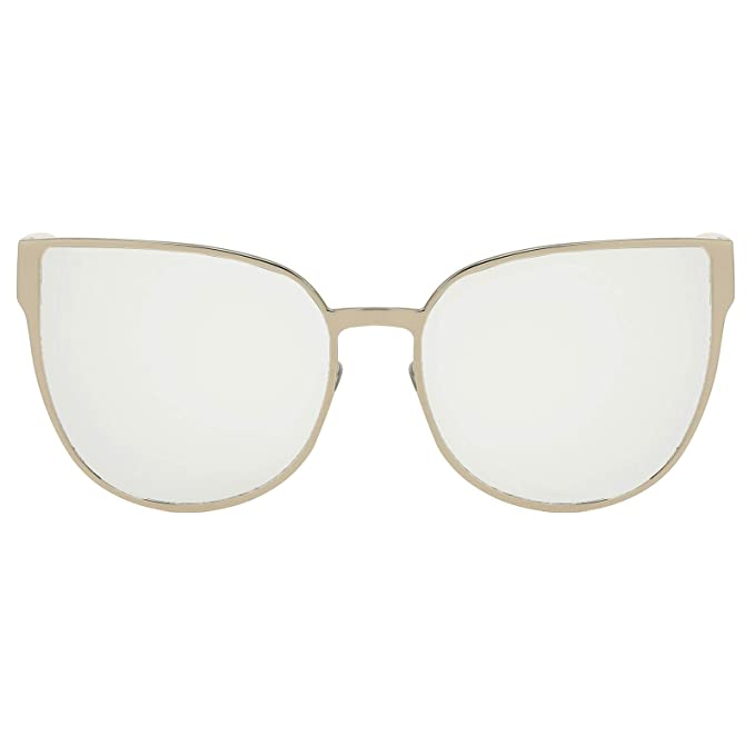 95733553815 Eyepster Polarized Mirror Lens Oversized Butterfly Sunglasses - Morning  Side (Silver)