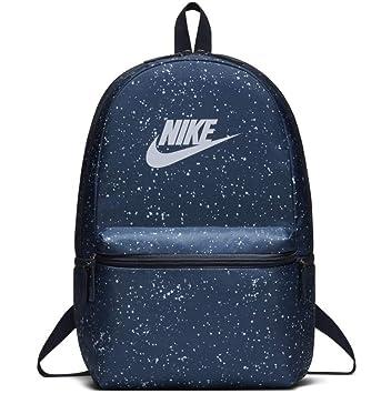 Nike Heritage Backpack Mochila Unisex Azul Diseño Spray 26 L: Amazon.es: Deportes y aire libre