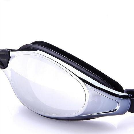 ZHANG occhiali antinebbia impermeabili con rivestimento UV di colore rosa brillante uomini di colore blu e le donne che nuotano gli occhiali di protezione, a4