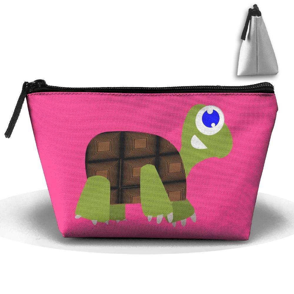 bcbf684b61e6 Amazon.com: Trapezoidal Bag Makeup Bag Crawling Turtles Storage ...