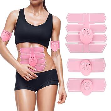 WENYFX Gym Bauch-Arm Smart Muskel Trainer Aufkleber Muskulatur Form ...