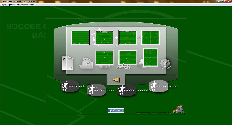 Soccer CREATOR Professional Fussball Zeichensoftware: Amazon.de ...