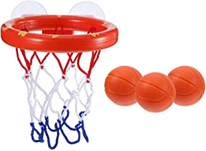 Dušial Toddler Bath Toys Kids Basketball Hoop Bathtub Water Play Set for Baby Girl Boy Toy
