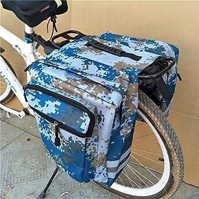 Hearthrousy Alforjas para Bicicleta Bolsa de Bicicleta Bicicleta ...
