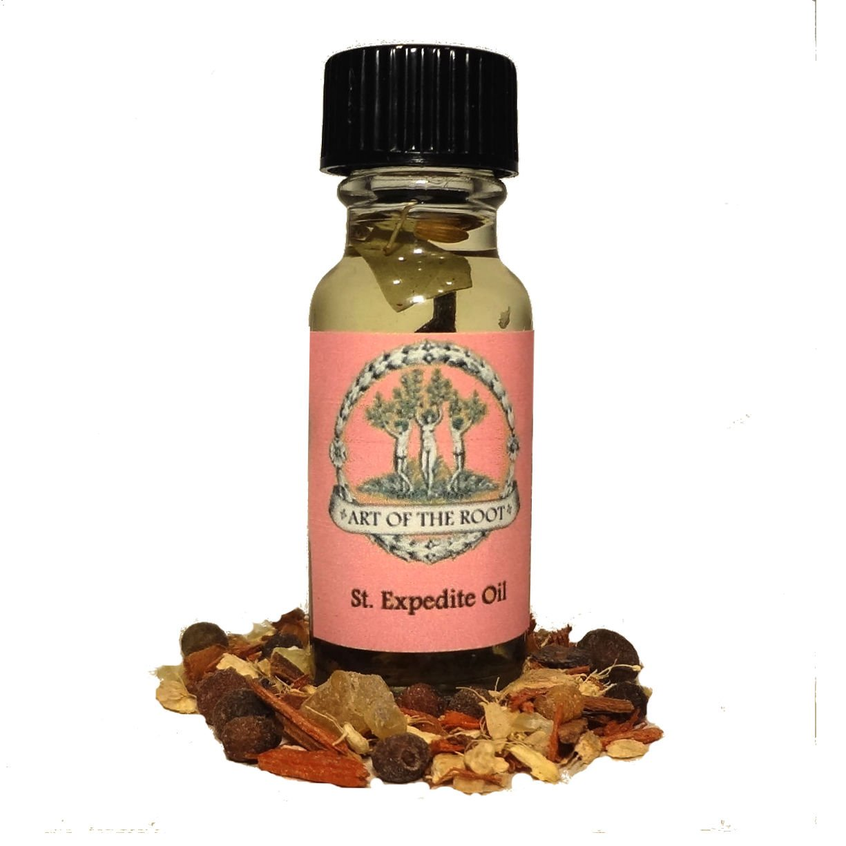 St  Expedite Oil 1/2 oz Hoodoo Voodoo Wicca Pagan