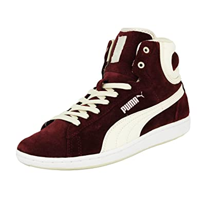 Chaussures Rouge Cross Suede Wns Cuir Mode Puma Shot Sneakers Femme QrBodCxeW