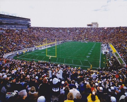 Notre Dame Stadium Unsigned Notre Dame Fighting Irish 8x10 inch Photo -