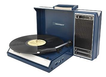 Crosley Spinnerette - Tocadiscos portátil USB con Software ...
