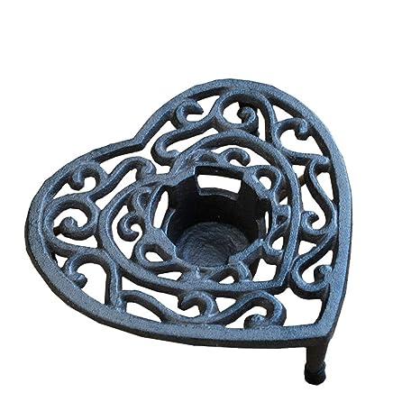Sungmor - Lámpara de Hierro Fundido con Soporte para Vela ...