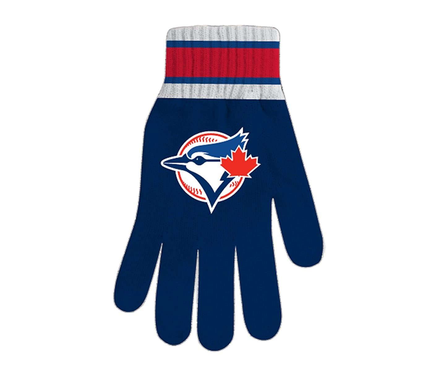 MLB Men's Toronto Blue Jays Knitted Fan Gloves SPORTICUS