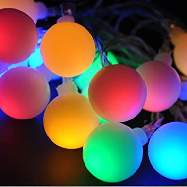 jndee 5m 16feet 50 led colour changing fading twinkling led mains powered christmas fairy lights