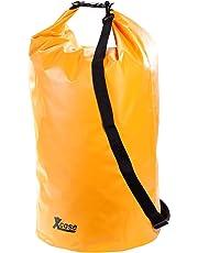Xcase Sack wasserdicht: Wasserdichter Packsack 70 Liter, orange (Schwimmender Seesack)