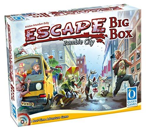 Queen Games Escape Zombie City Big Box - Realtime Board Game ()
