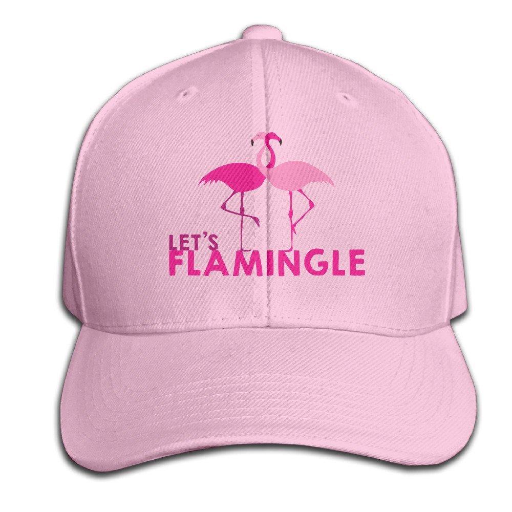 Amazon.com  Head Fashion Leading Pink Flamingo Adjustable Baseball ... bc29a104e42