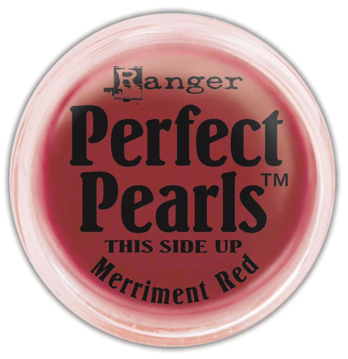 Ranger Perfect Pearls Pigment Powder, 1-Ounce, Merriment Red PPP-36838