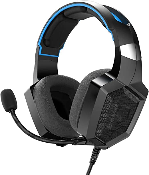 Gaming Headset PS4, Auriculares estéreo con Cable de Juego ...