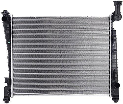 Radiator Pacific Best Inc For//Fit 13204 11-19 Jeep Grand Cherokee 3.6//5.7//6.4L 11-15 Dodge Durango 3.6L 11-18 Durango 5.7L//6.4L Heavy Duty