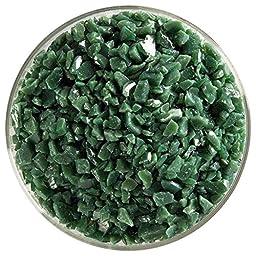 Green Goddess Designer Collection - 7 Colors, 90 COE, Bullseye Glass Coarse Frit Sampler Pack