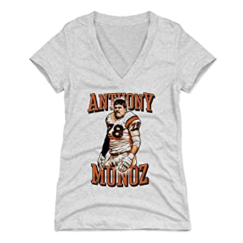 7fcacbf7 Amazon.com : 500 LEVEL Anthony Munoz Women's Shirt - Vintage ...