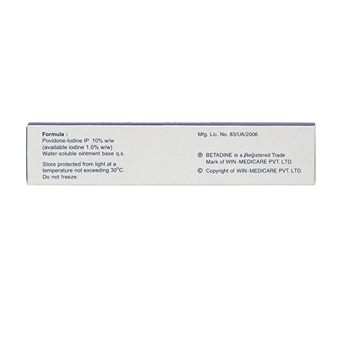 Buy Betadine 10% Ointment - 15 g (Pack of 3) Online at Low