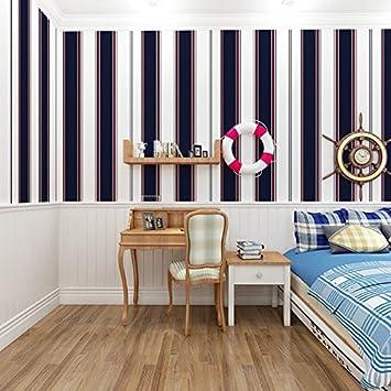 Vertikale Streifen Farbe Streifen Tapete Tapete, Kinder Wasserdicht  Selbstklebend Tapete Schlafsaal Wohnzimmer Schlafzimmer TV Tapeten