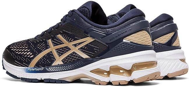 2 pairs asics kayano running shoes
