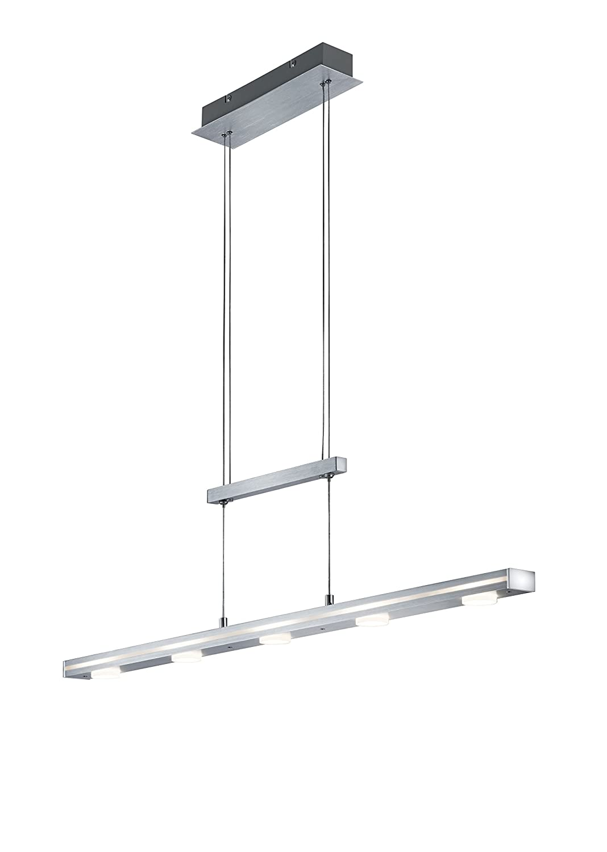Trio Leuchten LED-JoJo-Pendelleuchte Cavallo, aluminium gebürstet ...