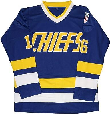 Hanson Brothers Jersey,Charlestown Chiefs 16,17,18 Slap Shot Ice Hockey Movie Jersey