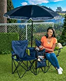 The Lakeside Collection Double Chair with Cooler and Umbrella Review