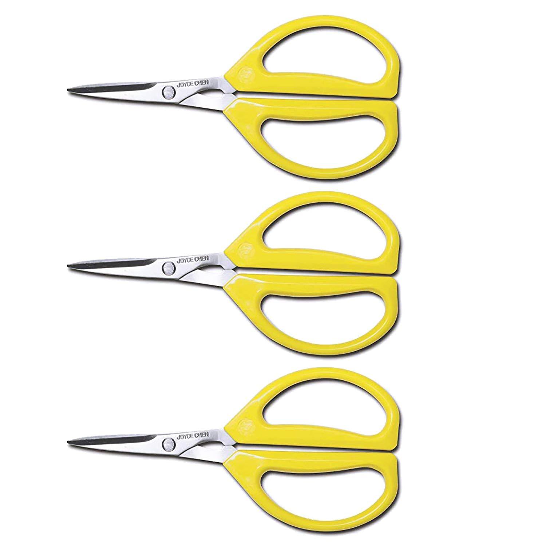 Joyce Chen Unlimited Scissors - (Yellow, 3 Count)