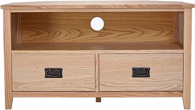 misssnower moderno soporte para televisor de esquina | madera ...