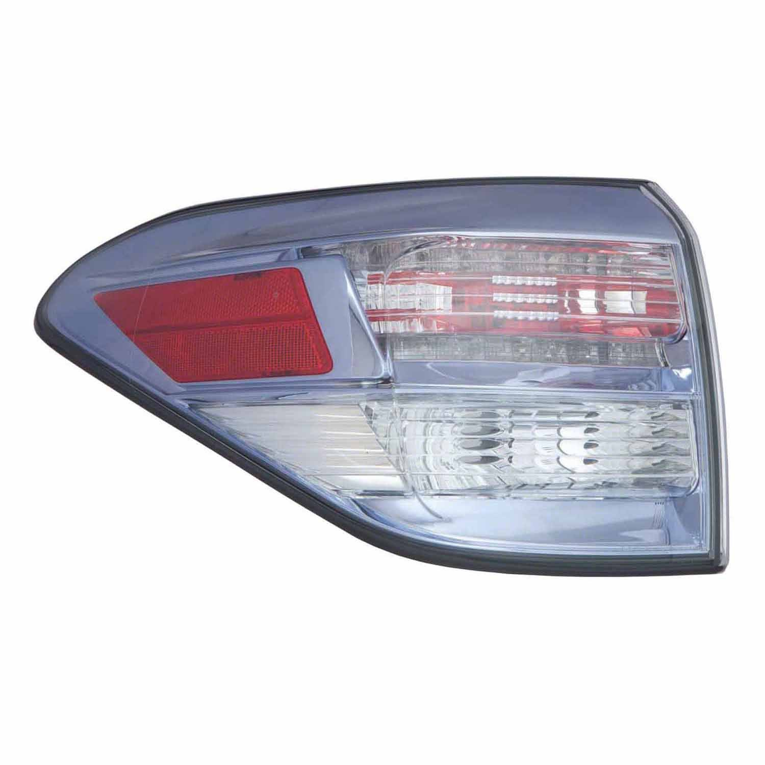 PartsChannel LX2804110OE OE Replacement Tail Light