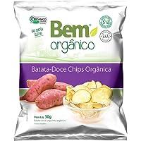 Batata Doce Chips Bem Orgânico 30g