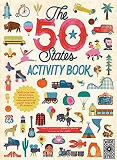 The 50 States Activity Book Maps Of The 50 States Of The Usa