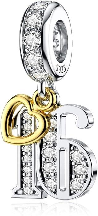 6 Sterling Silver Smart Charms for Kids w Longevity Lock \u806a\u660e\u4f36\u4fd0  for Children Bracelet Necklace 925 Silver Chinese Smart Charms