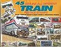 45 Genuine Postage Stamps Assortment - Trains