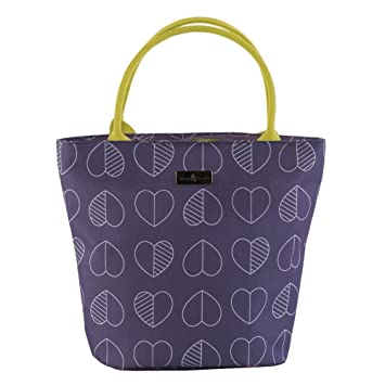 6cc81d9cee9d Beau & Elliot Outline Lunch Tote Bag by Navigate - Midnight Purple ...
