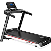 Stunner Fitness STX-222 2.0 HP Motorised Treadmill with MP3 and Training Programs for Cardio Workout at Home (Multicolour)