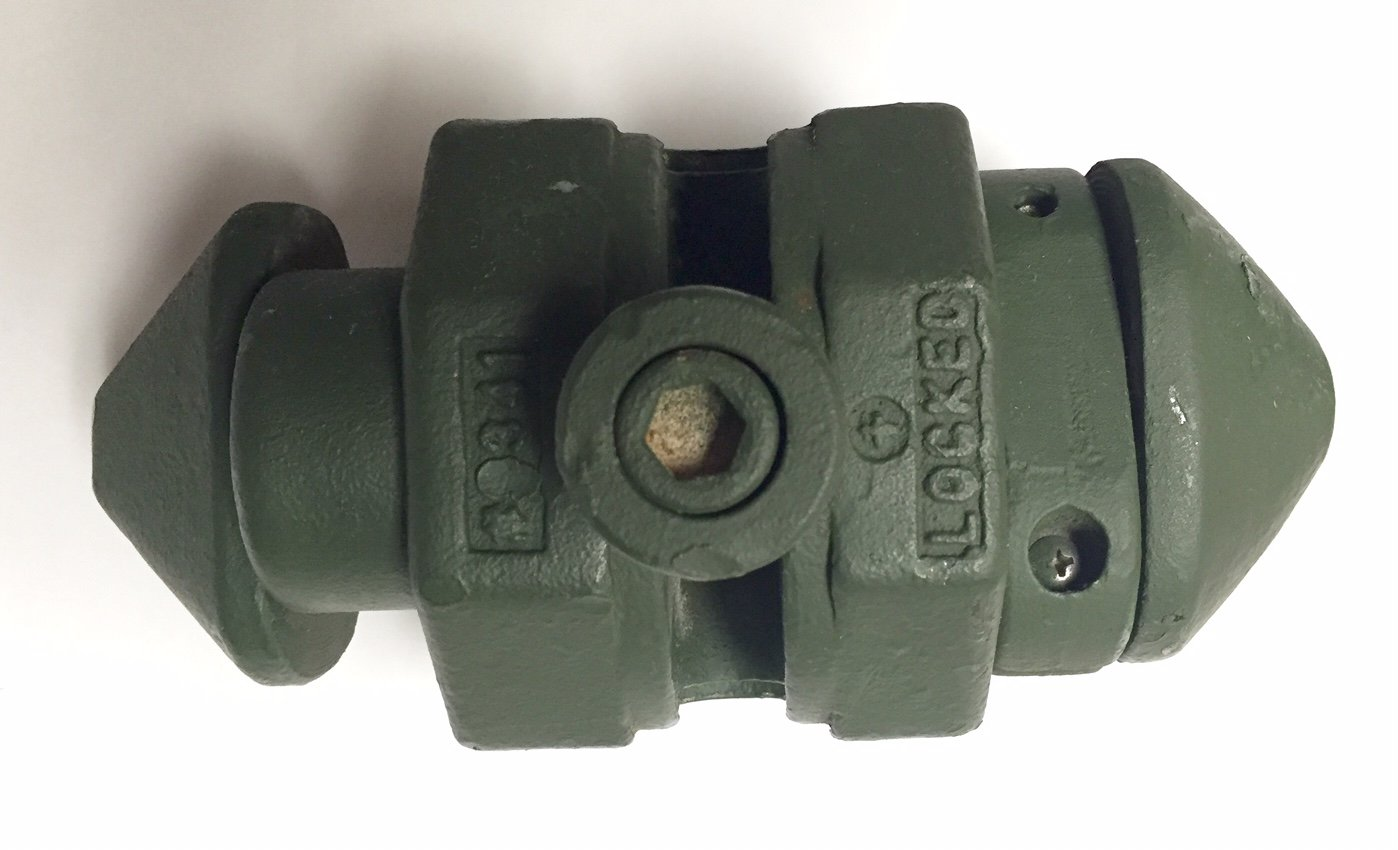 NSN 5325-01-599-5395 SeaBox 2341 Container Coupler USGI SB2341 Turn-Lock Fastener Assembly