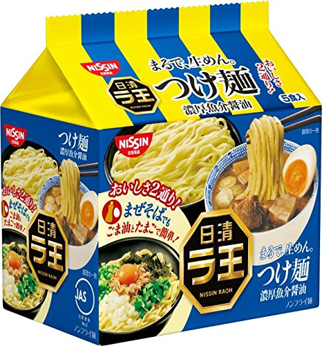 NichiShinra-o noodle rich seafood soy sauce 5 meals PX6 pieces by La King
