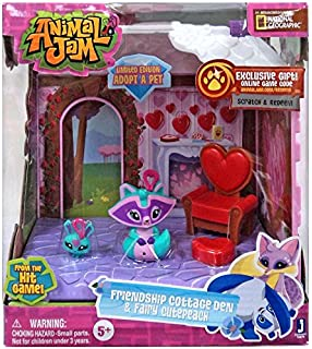 Amazon com: Animal Jam Club Geoz Playset with Exclusive Diamond