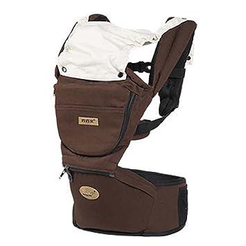 Amazon.com: 4 en 1 Asiento Hip bebé hombros Carrier lumbar ...