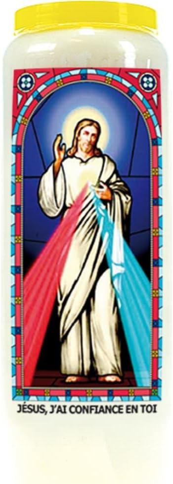 Dg-Exodif Neuvaine vitrail : Jésus, j'ai confiance en toi