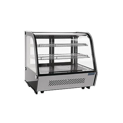 Polar CD230 mostrador refrigerado pantalla Merchandiser, 160 L ...